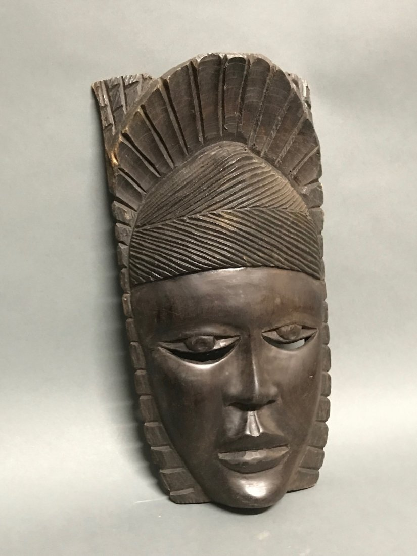 Ebony Wood Mask - 2