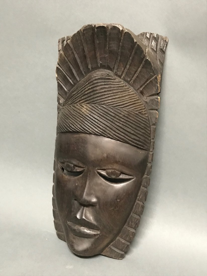 Ebony Wood Mask - 3