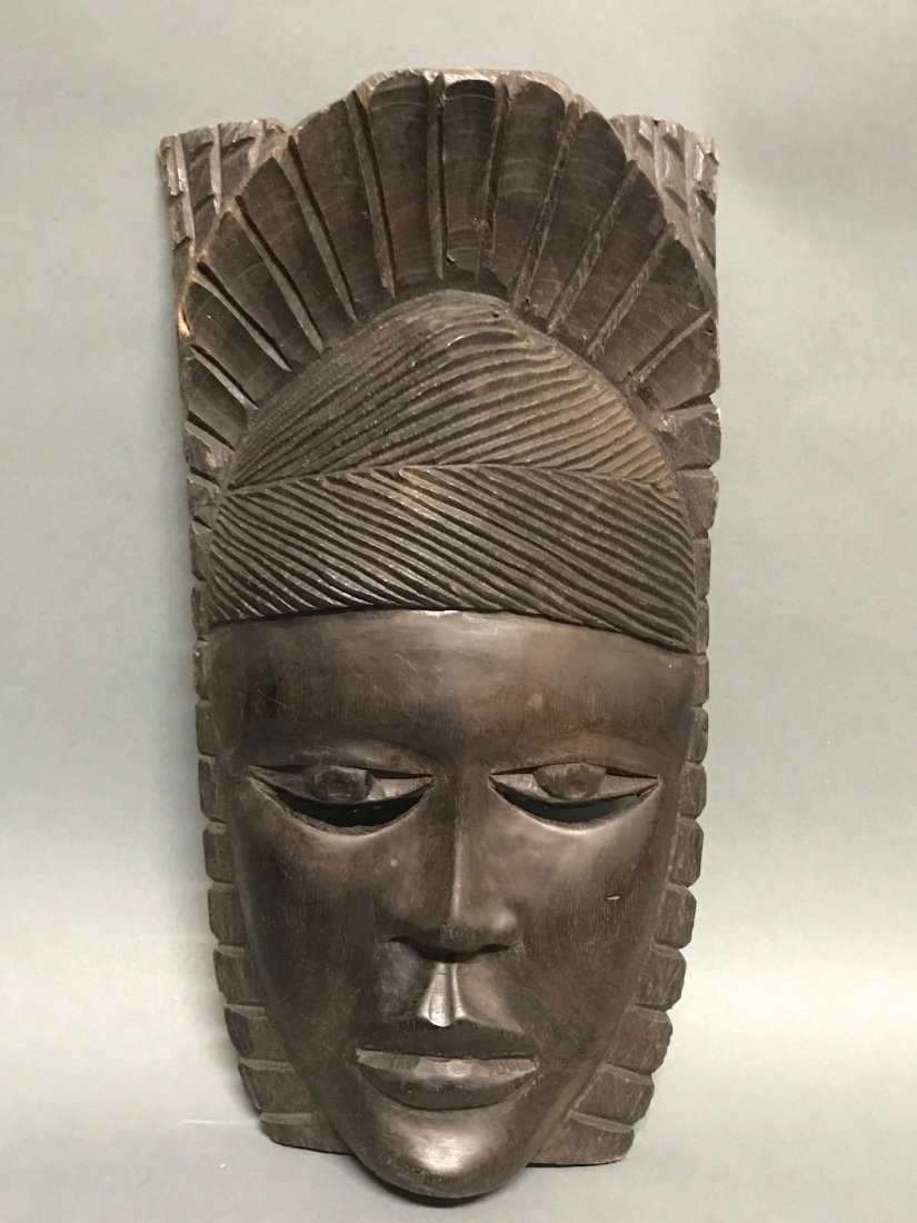 Ebony Wood Mask - 4
