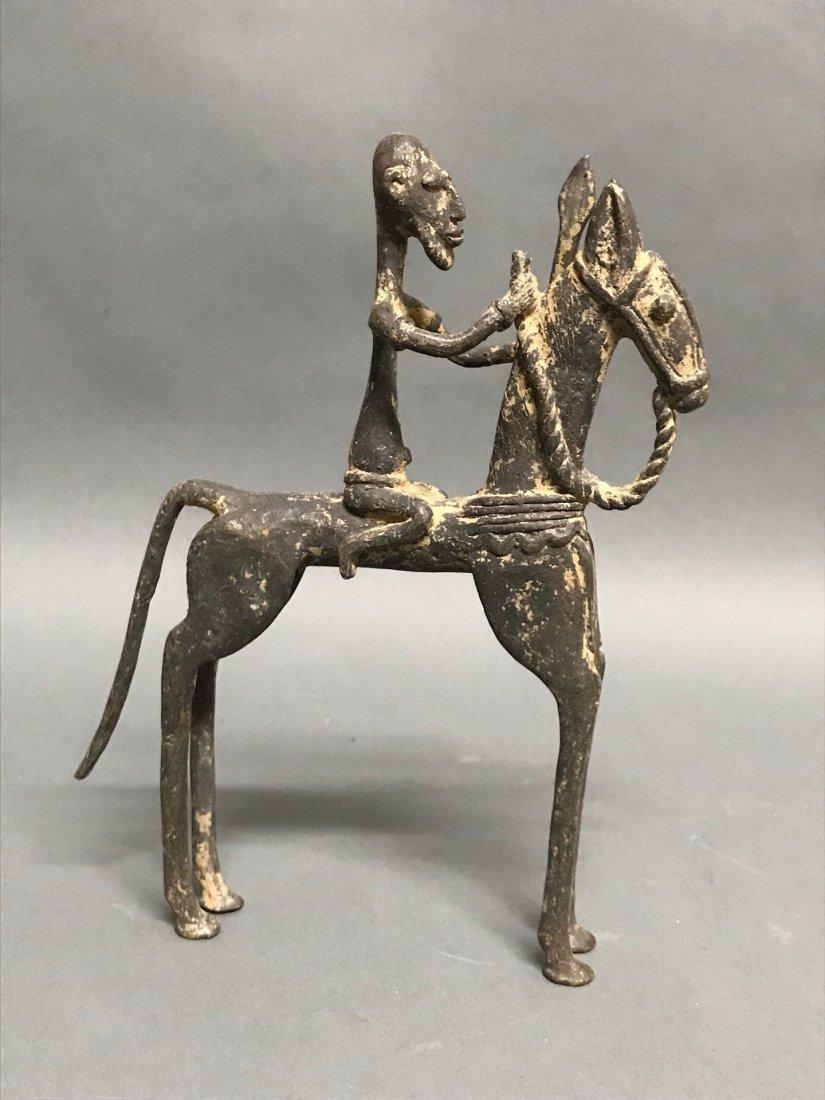 Dogon Bronze Horsemen