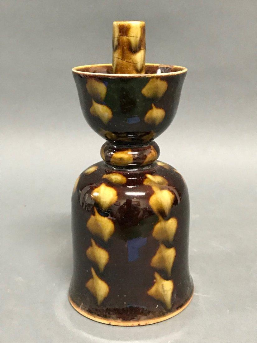 Chinese  Porcelain Incense Burner Holder - 2