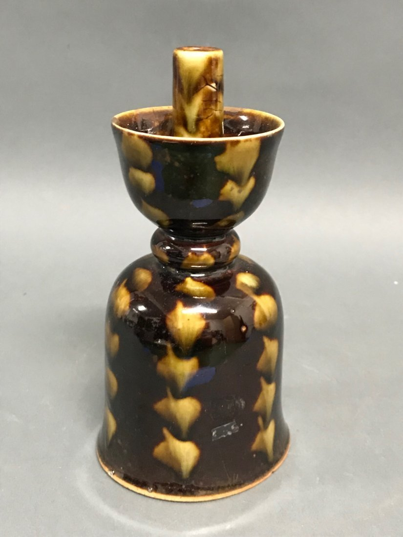Chinese  Porcelain Incense Burner Holder - 4