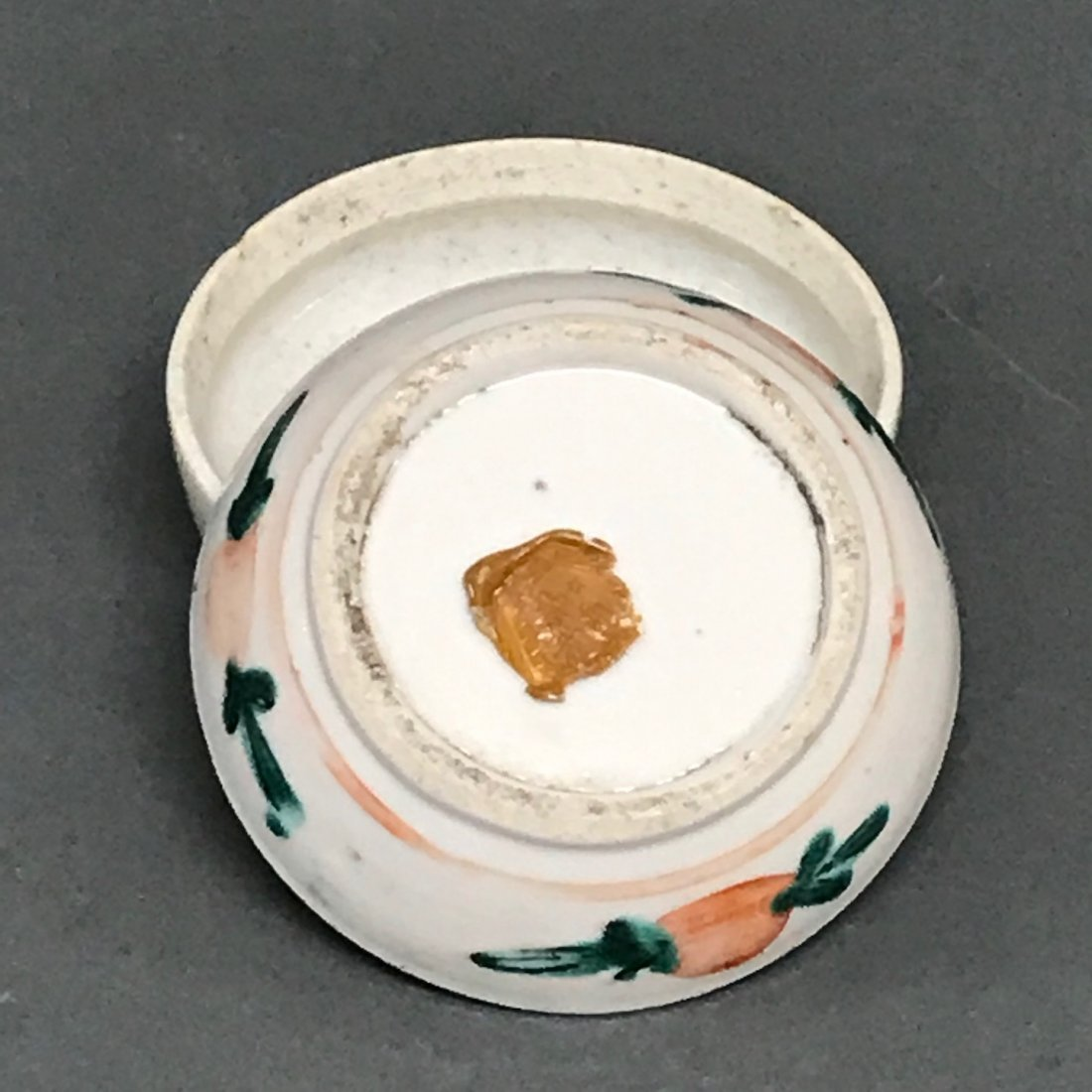 Chinese Porcelain Famille Rose Pill Box - 5