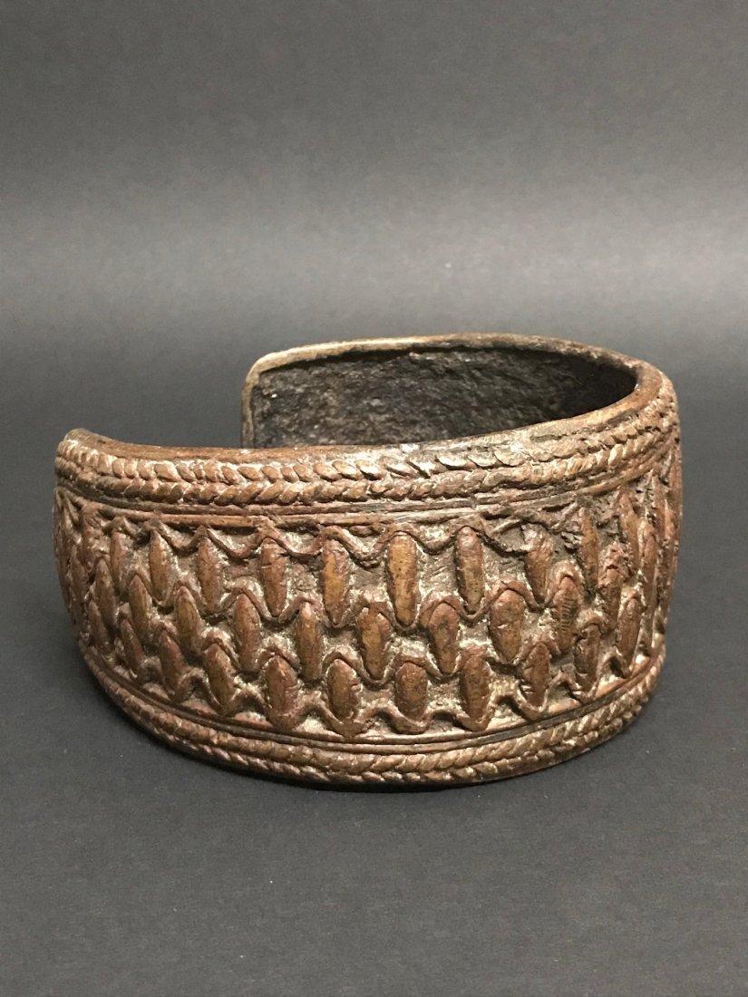 Nigerian Bronze Currency Bracelet