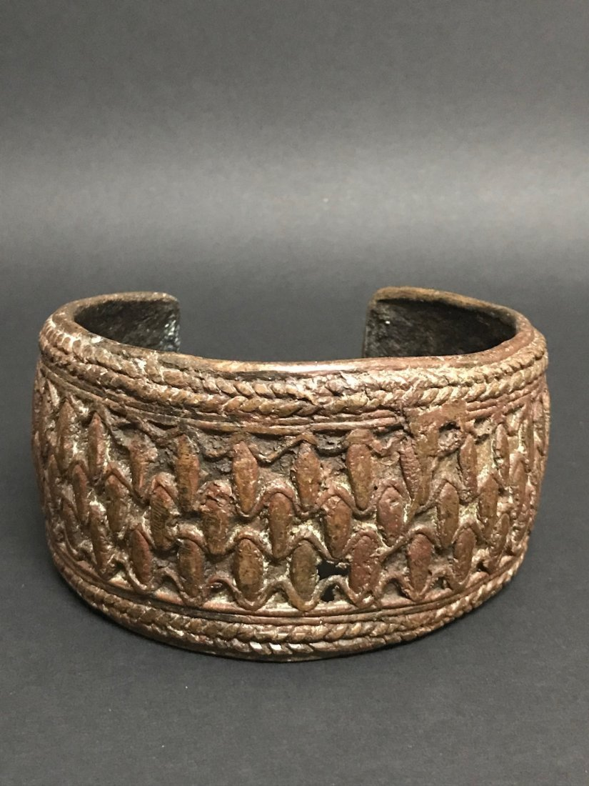 Nigerian Bronze Currency Bracelet - 2