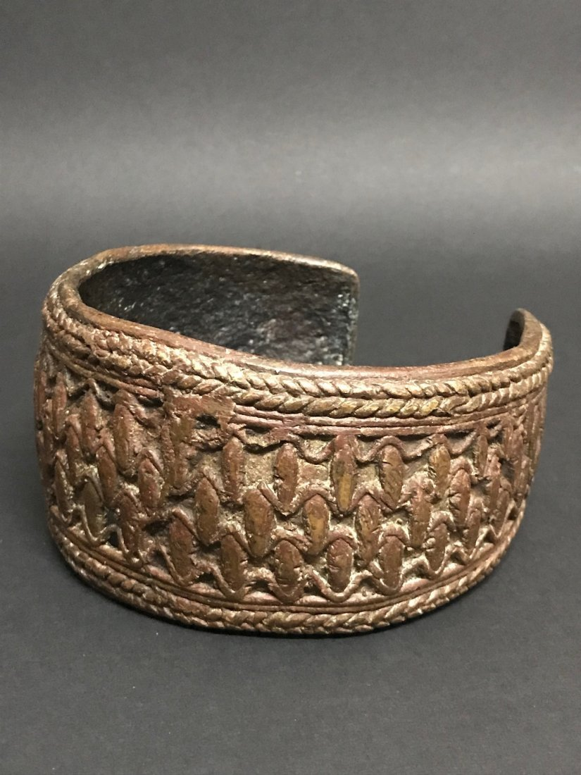 Nigerian Bronze Currency Bracelet - 3