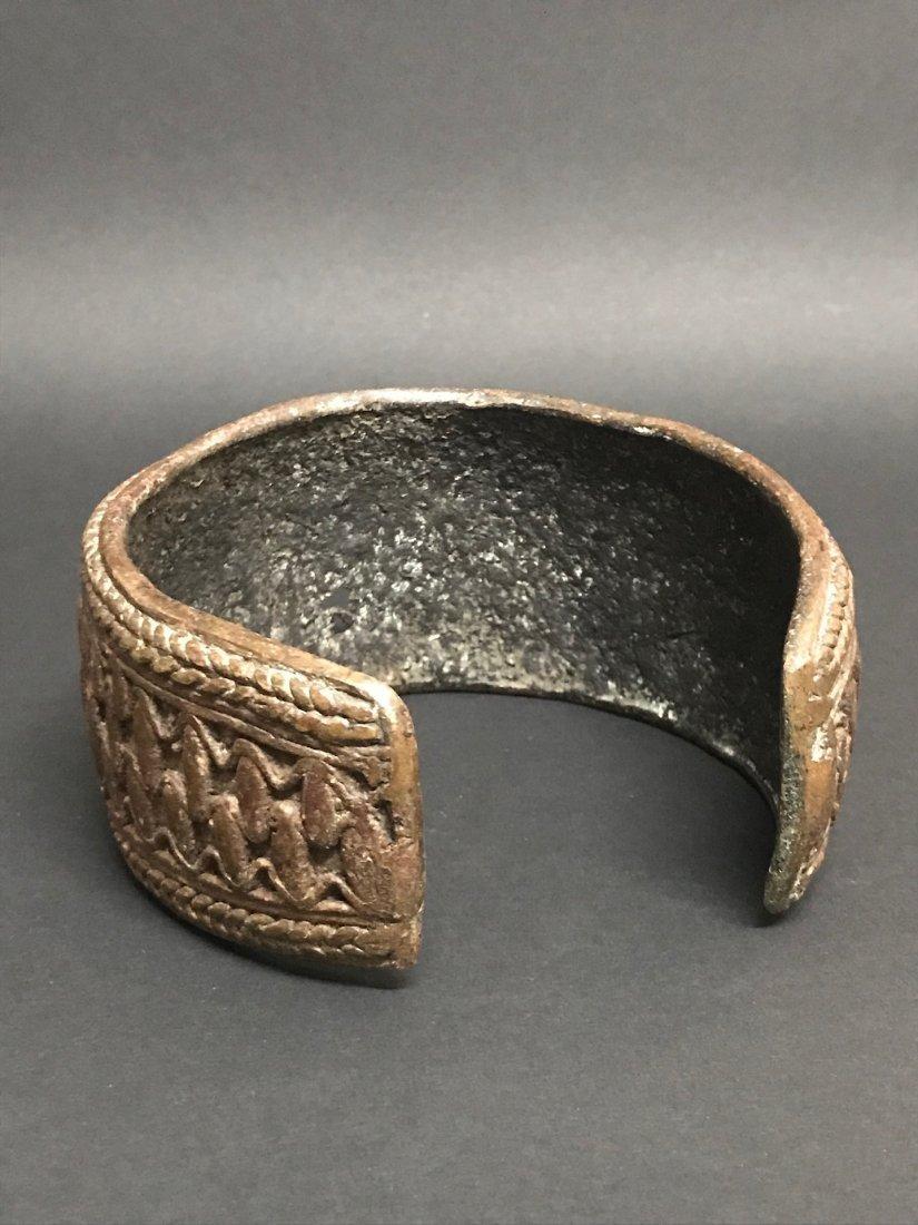 Nigerian Bronze Currency Bracelet - 4