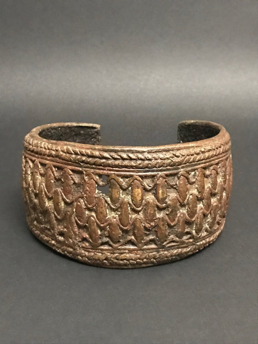 Nigerian Bronze Currency Bracelet - 6