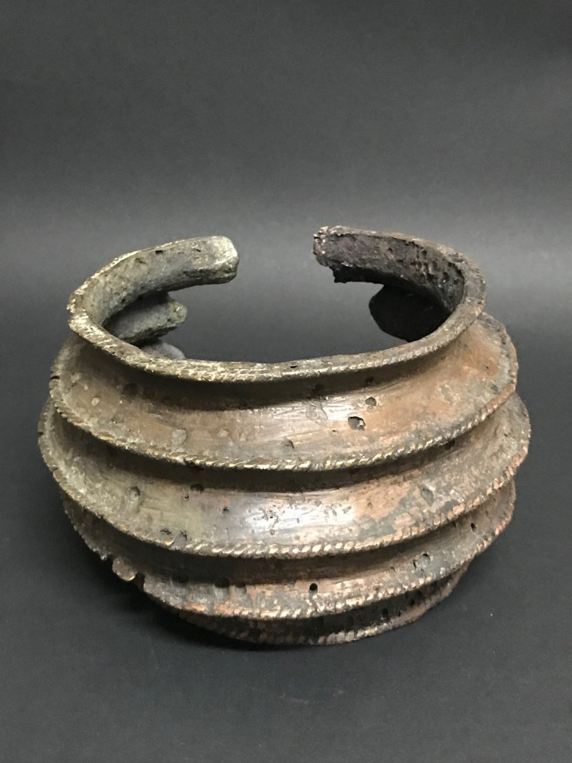 Nigerian Bronze Currency Bracelet