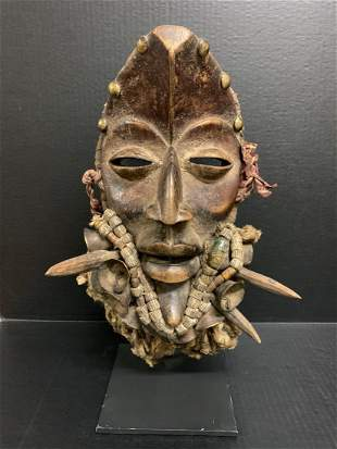 Dan Guère Mask with Stand
