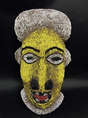 Bamileke Beaded Mask