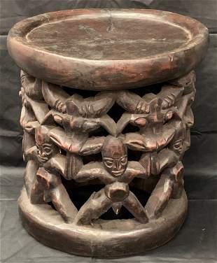 Bamileke Figurative Stool