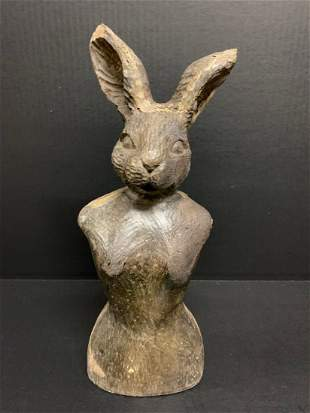 Rabbit Papermache Mold