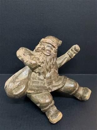Santa Claus Papermache Mold