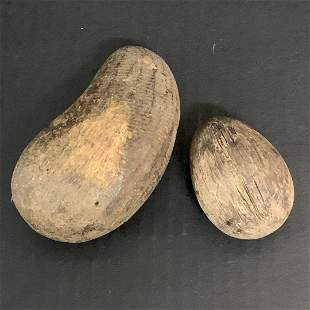 2 pieces Fruits Papermache Mold