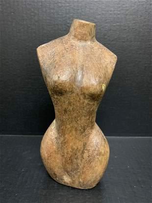 Female Mannequin Papermache Mold - Torso