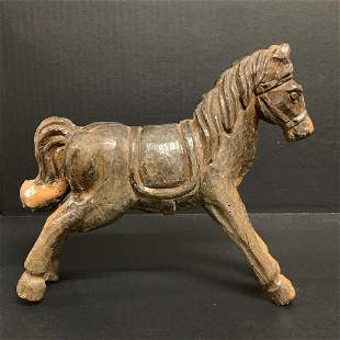 Horse Papermache Mold