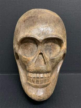 Skull Papermache Mold