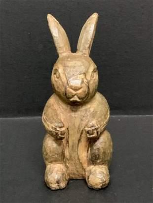 Rabbit Papermaché Mold