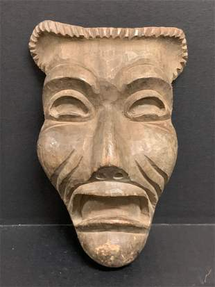 Theater Mask Papermache Mold