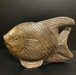 Large Fish Papermache Mold