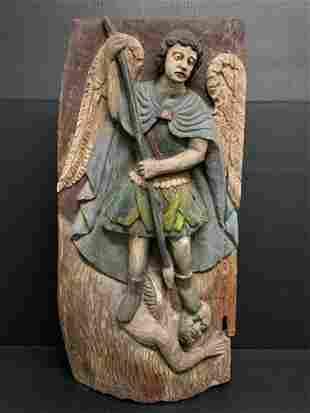 Large Saint Michael Plaque
