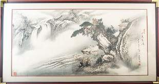 LANDSCAPE PAINTING BY WANG BING LAI