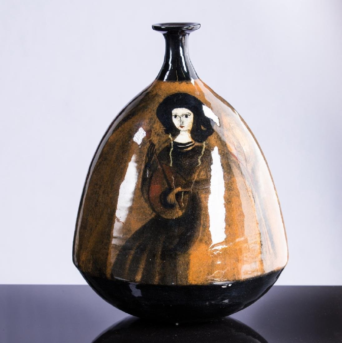 POLIA PILLIN (1909-1992) ART POTTERY VASE