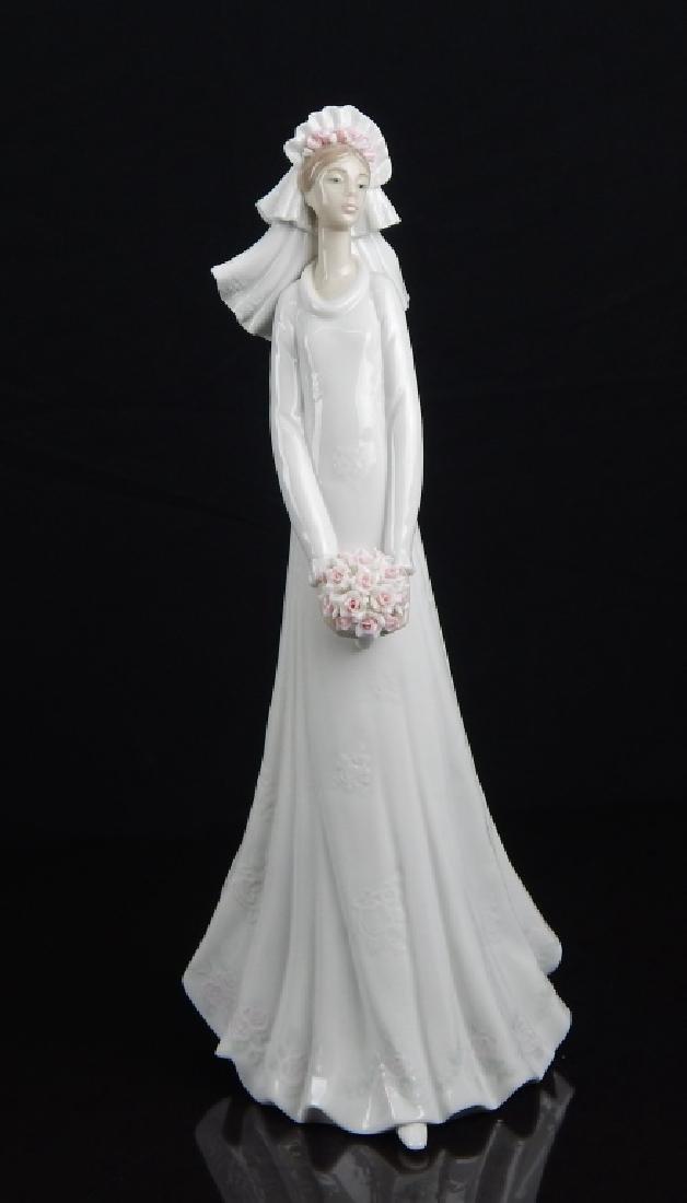 "LLADRO #6329 ""BLUSHING BRIDE"" FIGURE"