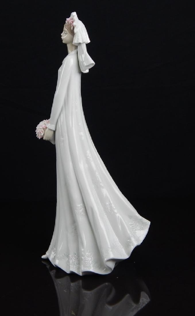 "LLADRO #6329 ""BLUSHING BRIDE"" FIGURE - 2"