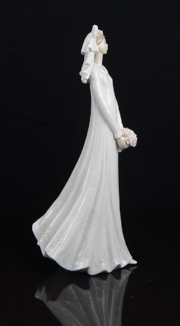 "LLADRO #6329 ""BLUSHING BRIDE"" FIGURE - 3"