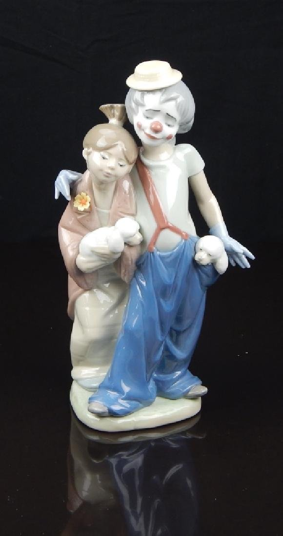 """LLADRO # 7686 """"PALS FOREVER"""" FIGURE"""