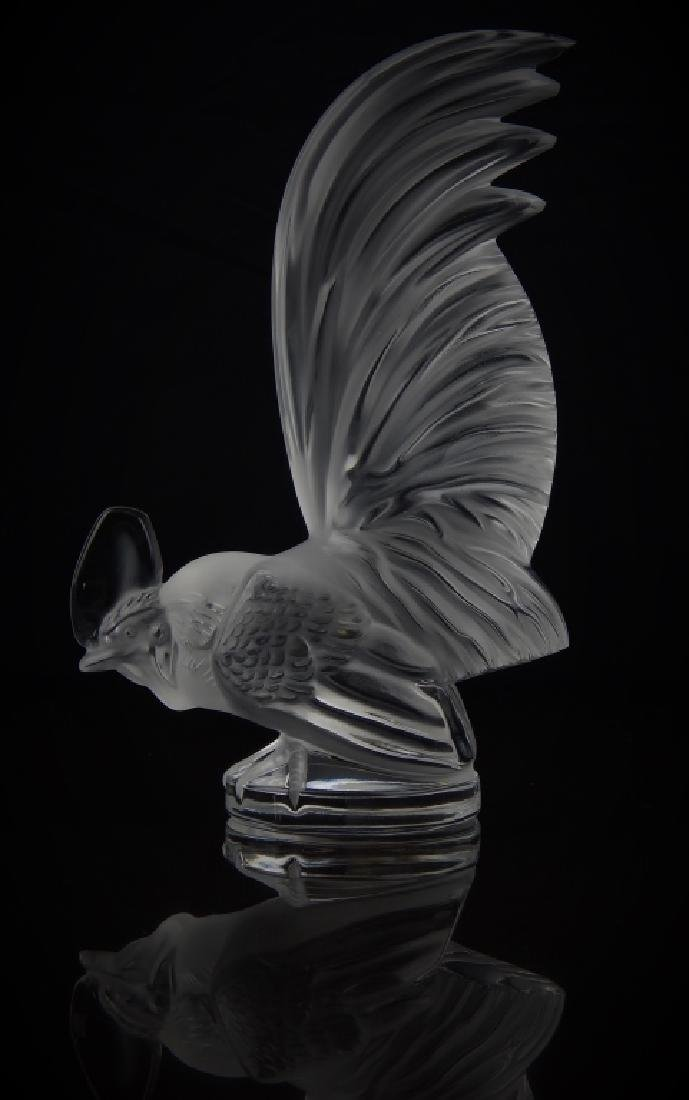 LALIQUE FRANCE CRYSTAL ROOSTER