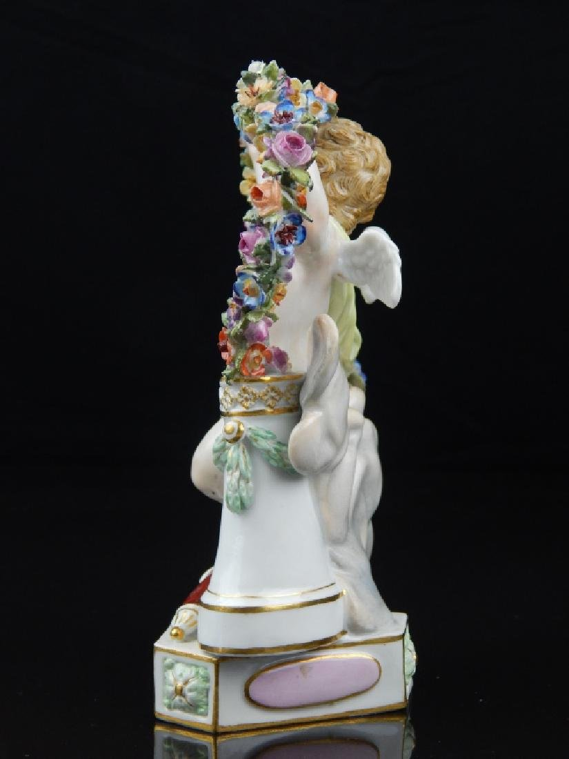 "ANTIQUE MEISSEN ""TE LES RAMENE"" SCULPTURE - 8"