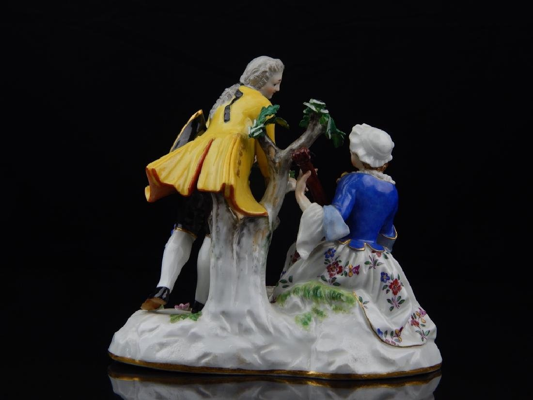 ANTIQUE MEISSEN PORCELAIN FIGURAL SCULPTURE - 6