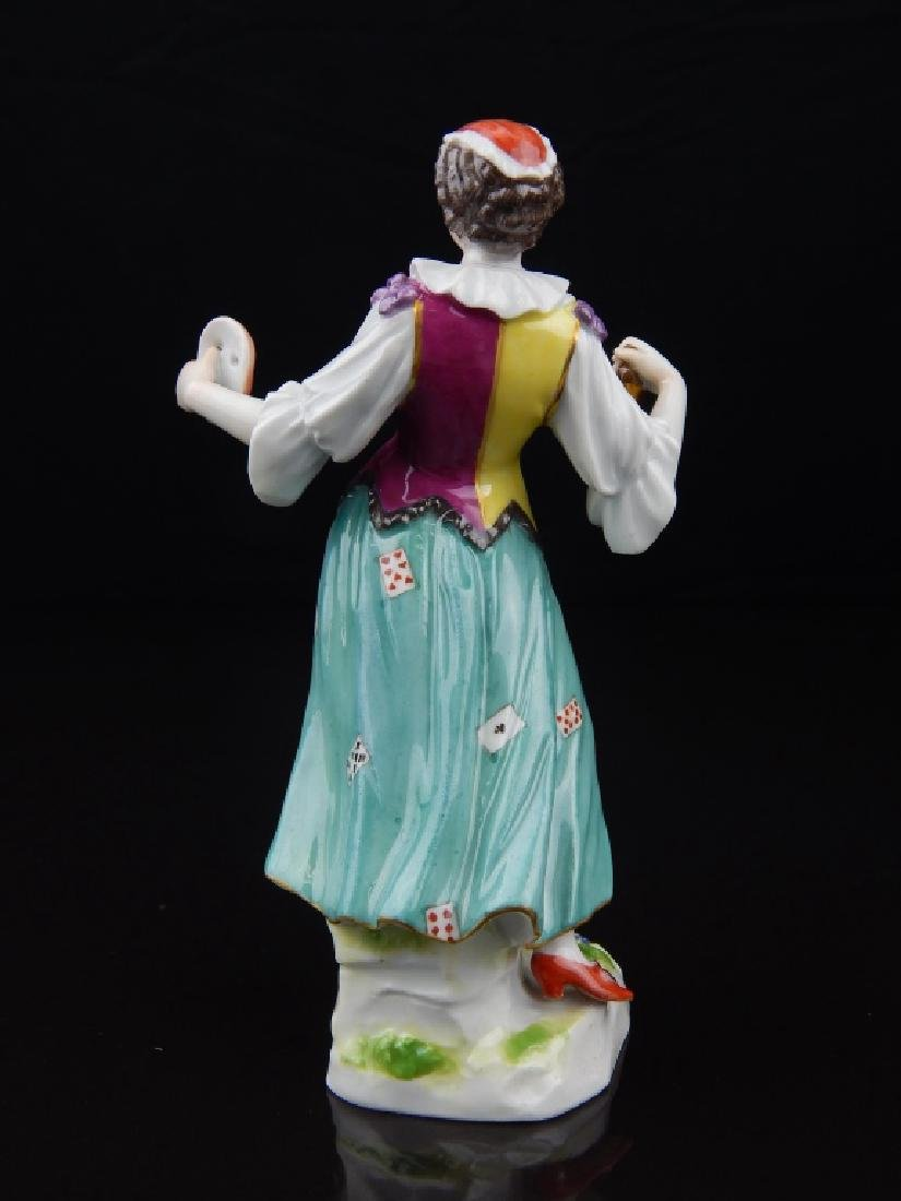 ANTIQUE MEISEEN PORCELAIN ACTRESS FIGURE - 6