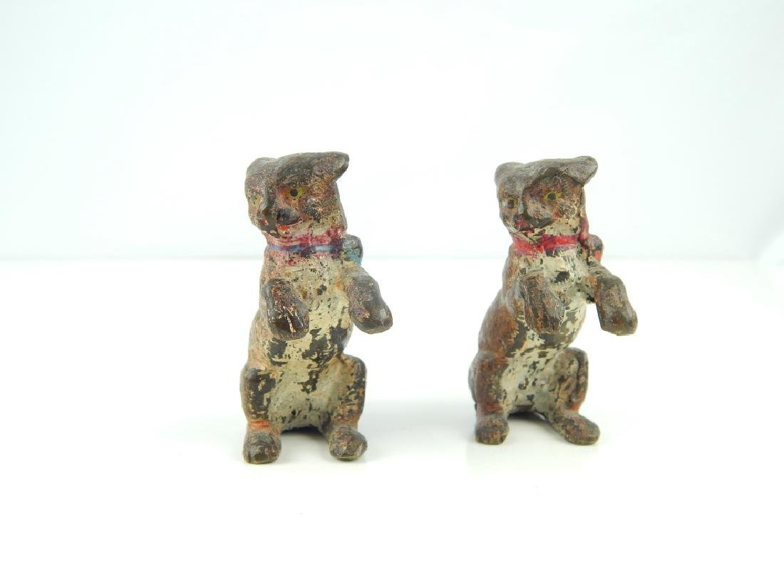 (5) ANTIQUE VIENNA COLD PAINTED BRONZE CATS - 3