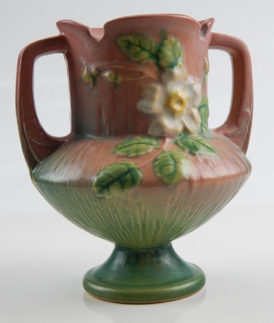 ROSEVILLE WHITE ROSE POTTERY