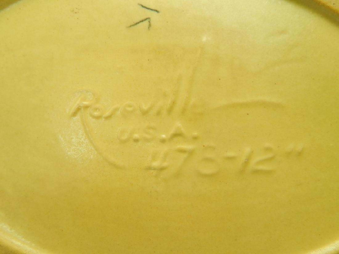 ROSEVILLE ZEPHYR LILY POTTERY BOWL - 5
