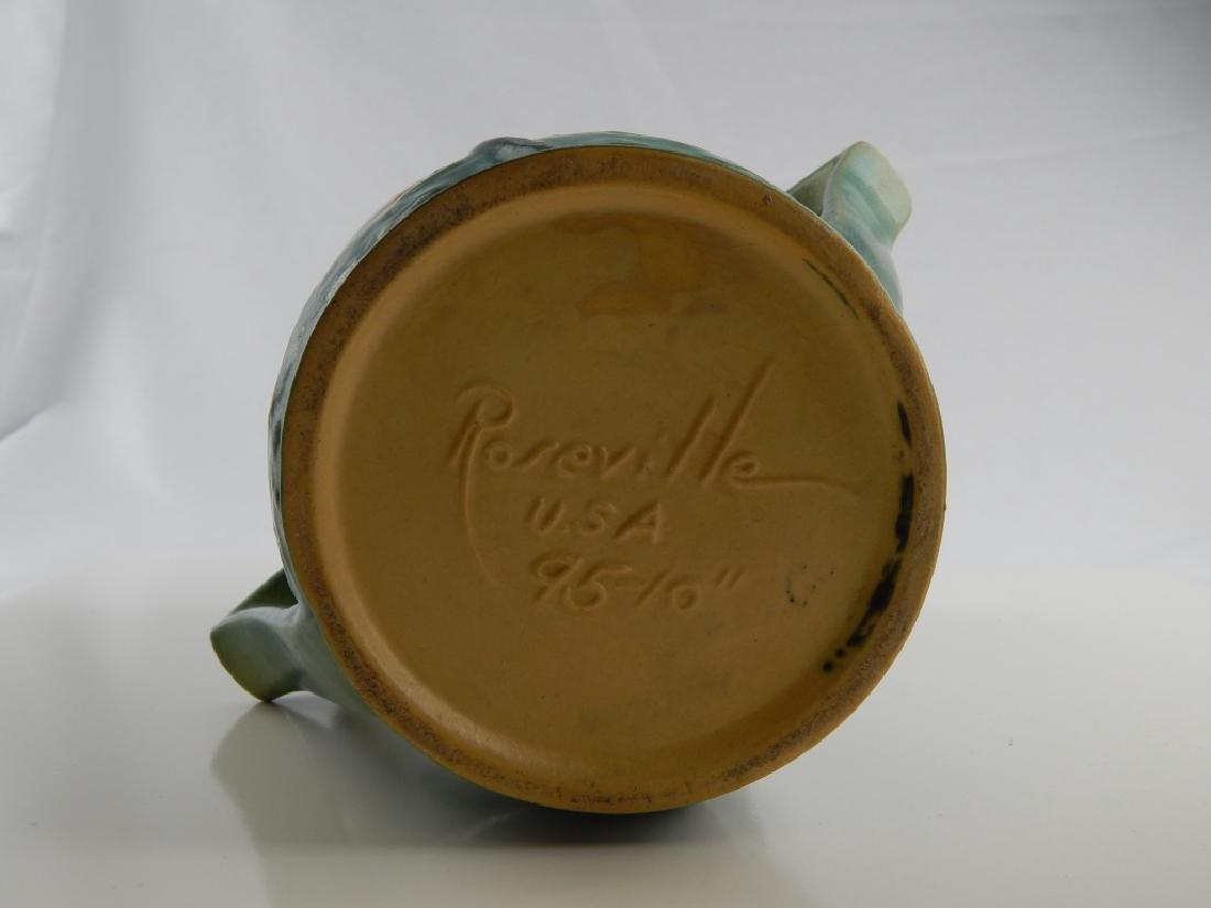 ROSEVILLE MAGNOLIA POTTERY VASE - 4