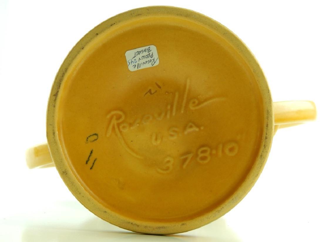 ROSEVILLE PEONY POTTERY GROUP - 6