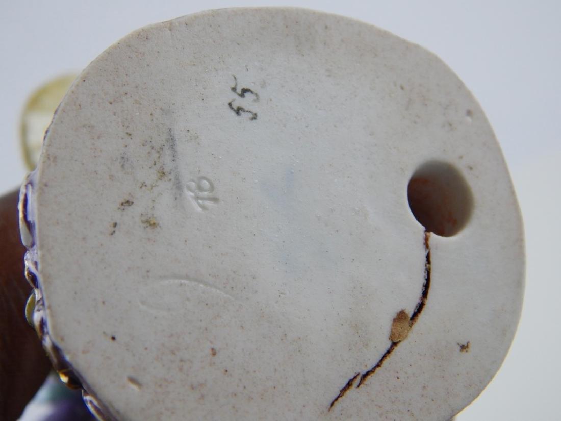 ANTIQUE MEISSEN PORCELAIN CLAM SELLER FIGURE - 5