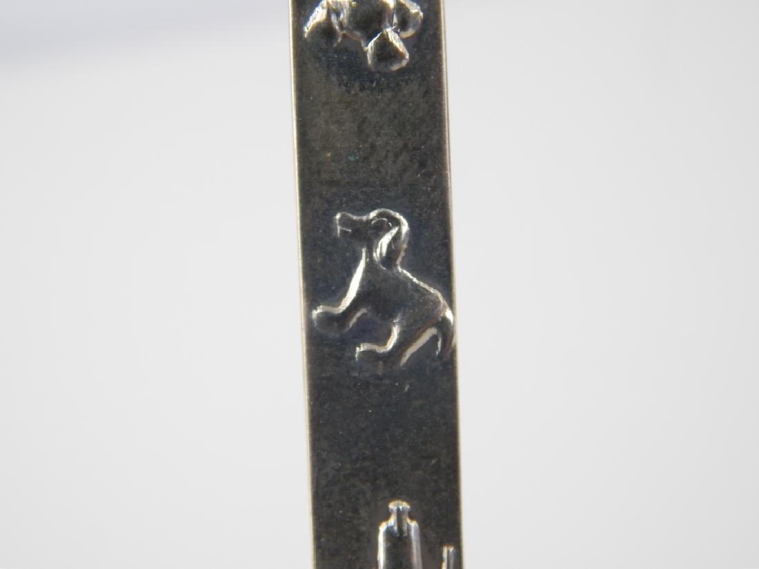 TIFFANY & CO STERLING SILVER SANTA CLAUS SPOON - 6