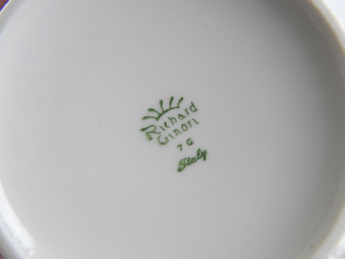 75pc RICHARD GINORI PORCELAIN CHINA DINNERWARE SET - 2