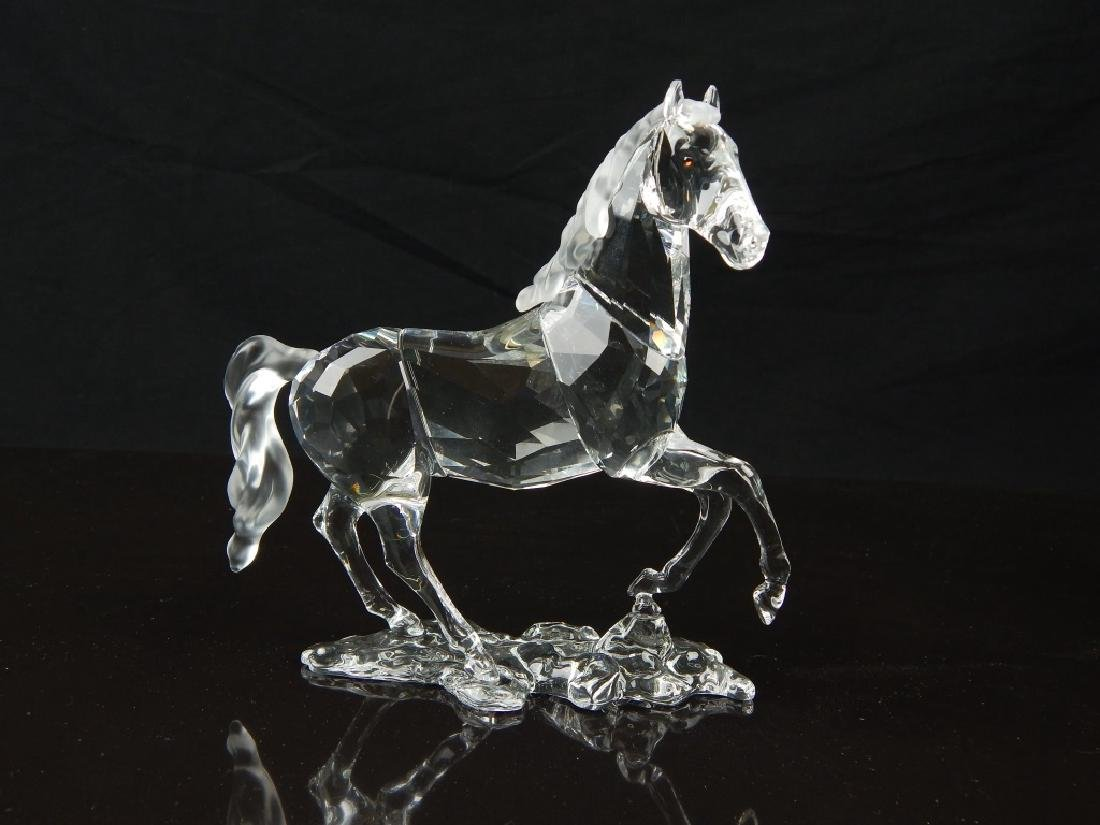 5 SWAROVSKI CRYSTAL ANIMAL SCULPTURES - 2