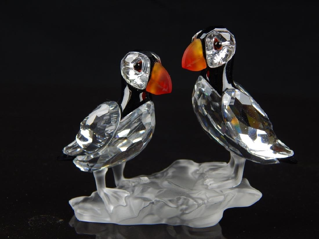5 SWAROVSKI CRYSTAL ANIMAL SCULPTURES - 4