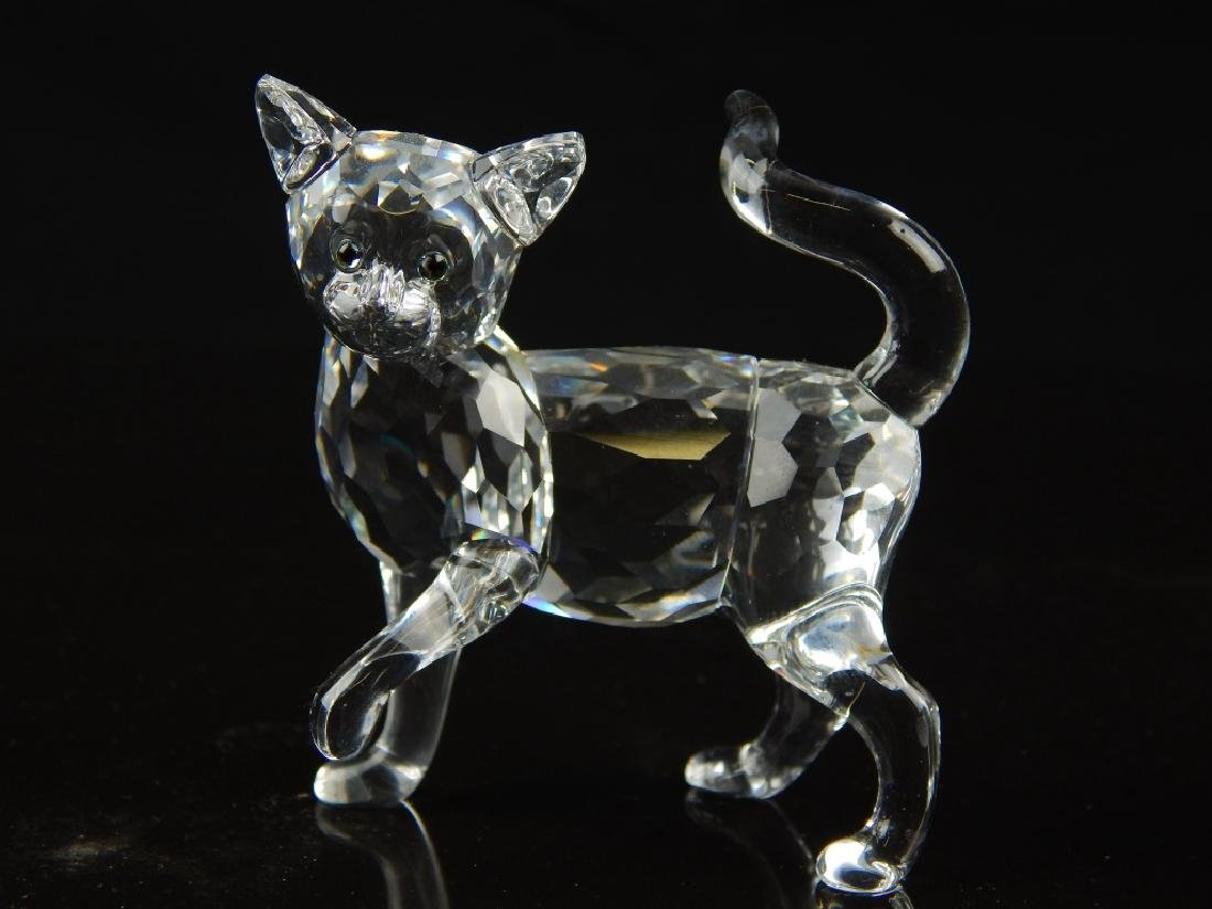 5 SWAROVSKI CRYSTAL ANIMAL SCULPTURES - 6
