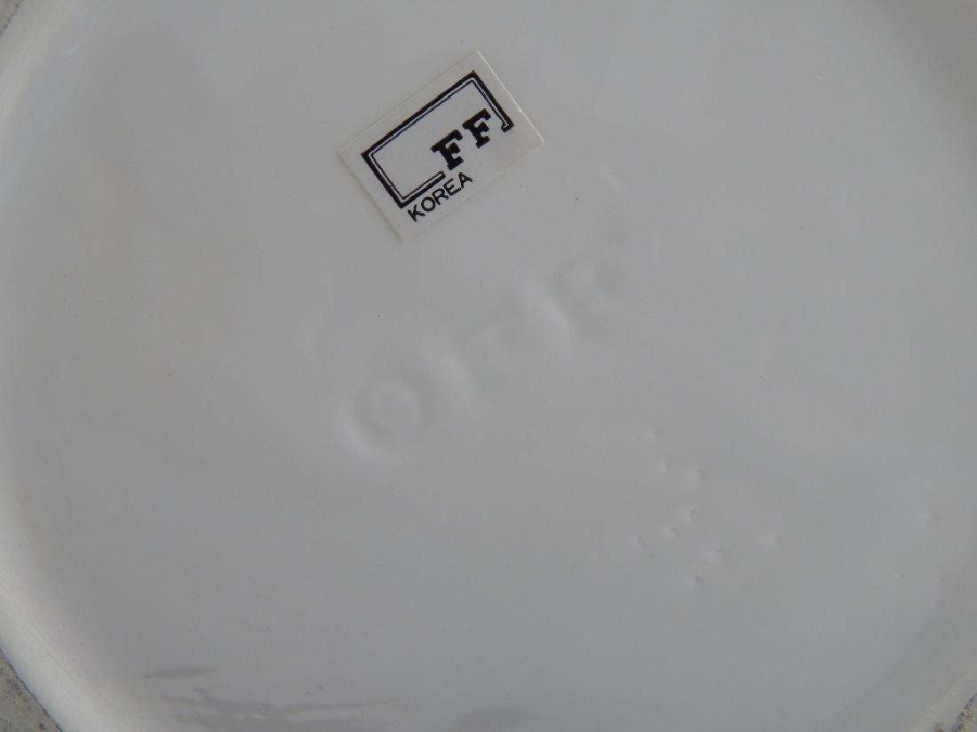 FITZ & FLOYD PORCELAIN VASE - 3