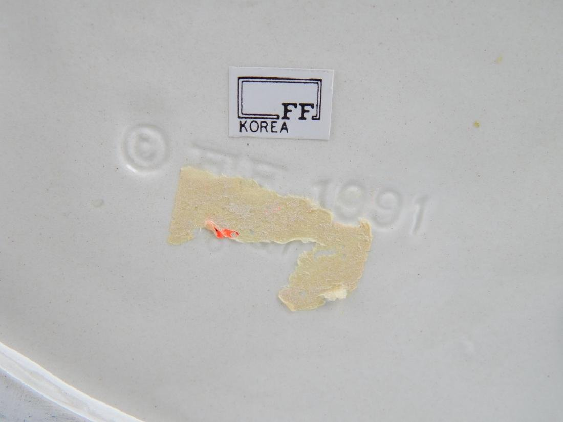 1991 FITZ & FLOYD MAJOLICA GIRAFFE PITCHER - 7