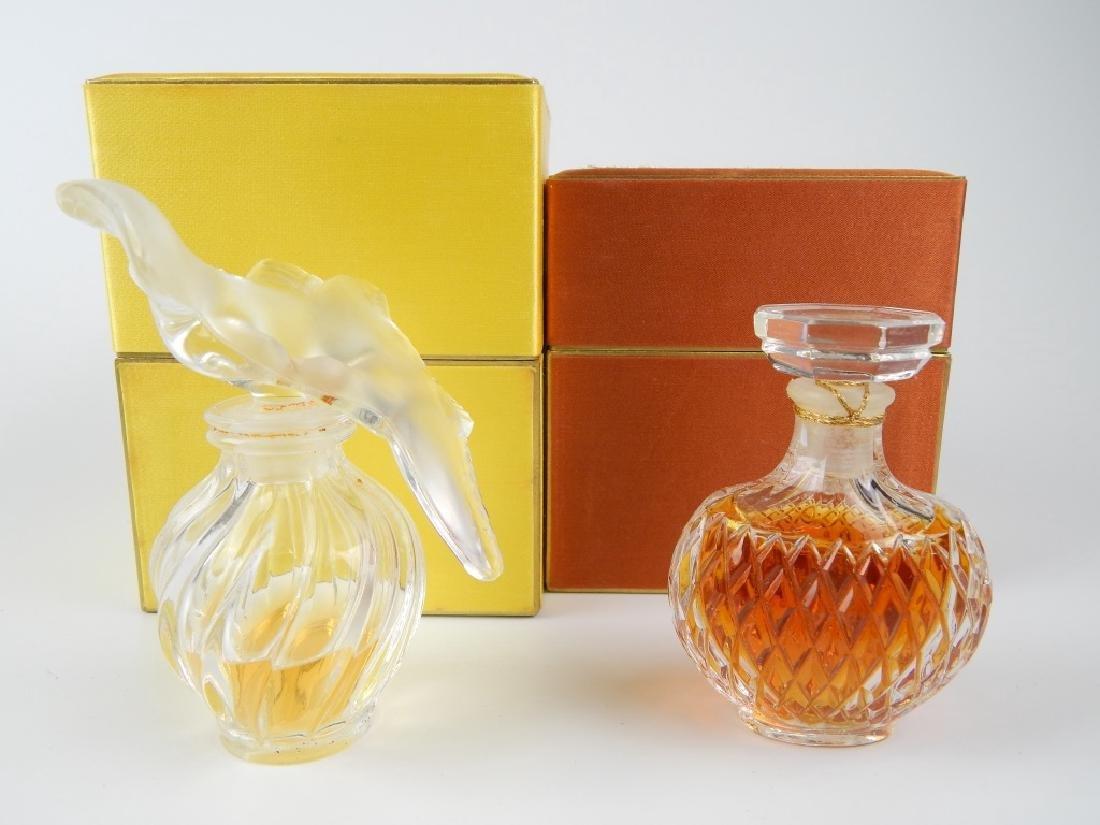 2 VINTAGE NINA RICCI PERFUME BOTTLES IN BOXES - 2